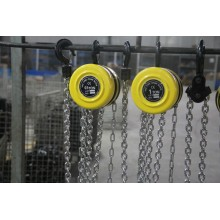 Leading for HSZ Round Type Chain Block CE GS Quality Manual Chain Hoist supply to Poland Factory