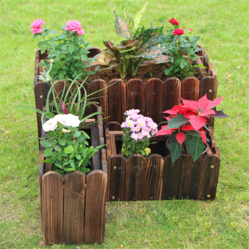 The Balcony Wooden Flowerpot Storage