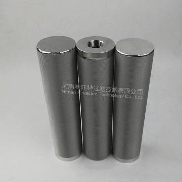 316L Sintered 5-Layers Wire Mesh Filter Elements