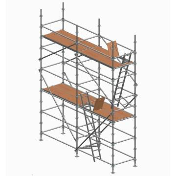 Aluminum Kwikstage System Scaffolding