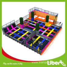 jump and bounce indoor trampoline park