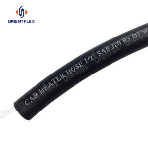 Automotive polyester reinforced heater Hose SAE J20 R3