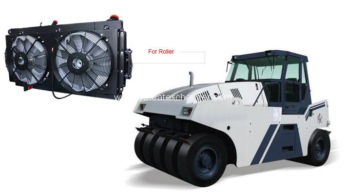 Engineering Machinery Roller  Cooler