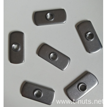 1/4-16  Carbon steel Plane weld nuts
