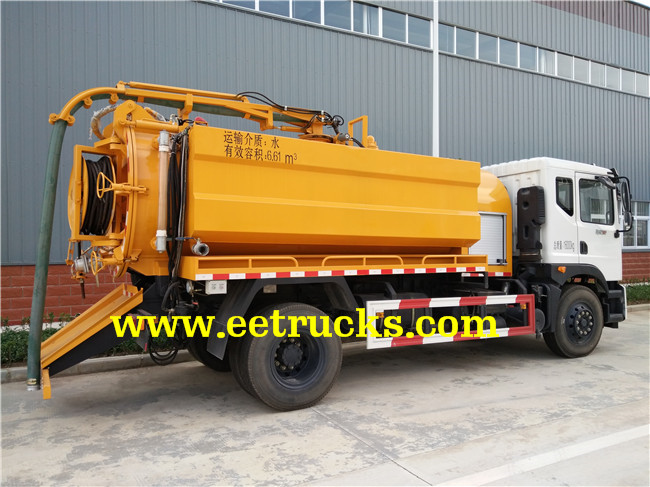 7 CBM Sewer Cleaning Trucks