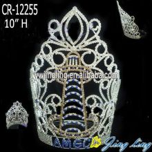 2015 Jingling fashion women pretty lady Pageant Crown