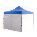 folding gazebo trade show tent with sidewalls