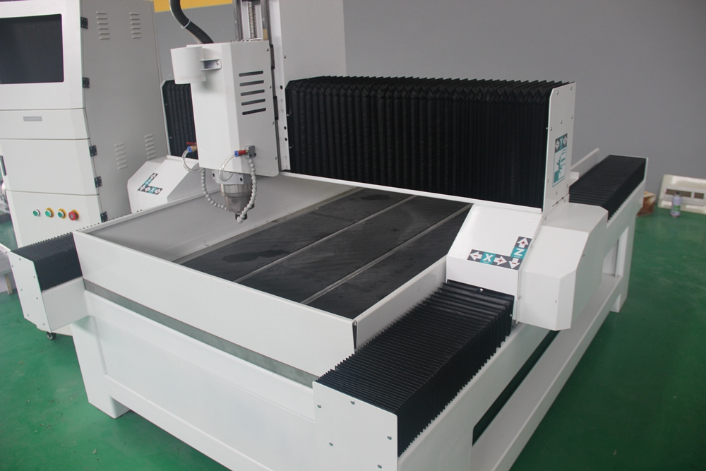 Heavy duty 3d stone carving cnc router machine