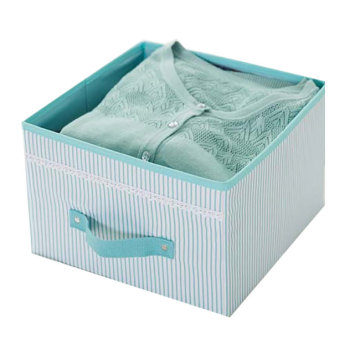 Foldable Hanging Closet Storage Organizer Bag Box
