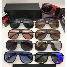 UV400 Polarized Metal Frame Sunglasses For Men