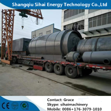 Newly Design Waste Tire Pyrolysis Unit