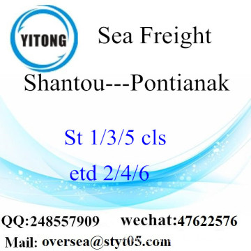 Shantou Port LCL Consolidation To Pontianak