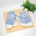 Dotted Heat Resistant Cotton Kitchen Cooking Gloves