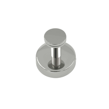 Stainless Steel Round Base Single Coat Hook