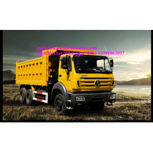 China for Electric Dump Car Beiben NG80 6x4 dump truck 2527/2530/2534/2538KY Euro III export to New Caledonia Factories