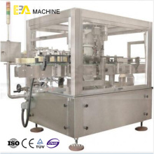 Double Side Stick Labeling Machine(Rotary Type)