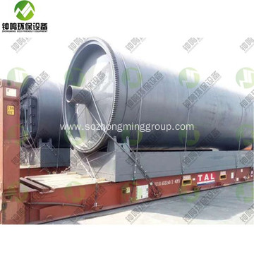 Tyre Pyrolysis Process Reactor Design Description