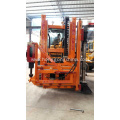 Wheeled Highway Guardrail Hole Drilling Machine