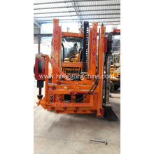 China for Pile Driver With Screw Air-Compressor Highway Guardrail Installation Machine supply to American Samoa Exporter