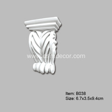 Factory Price for Pu Corbel Moulding Small Size Polyurethane Corbels supply to Germany Importers