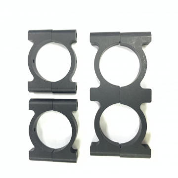 28mm Round CF Aluminum tube clamp for sports