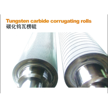 Hot sale for Corrugating Rolls Tungsten Carbide Corrugated Roller export to South Korea Factory