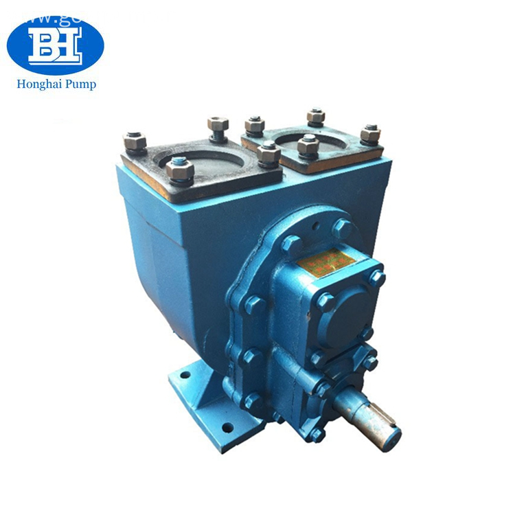 Electric pto oil pump for tank