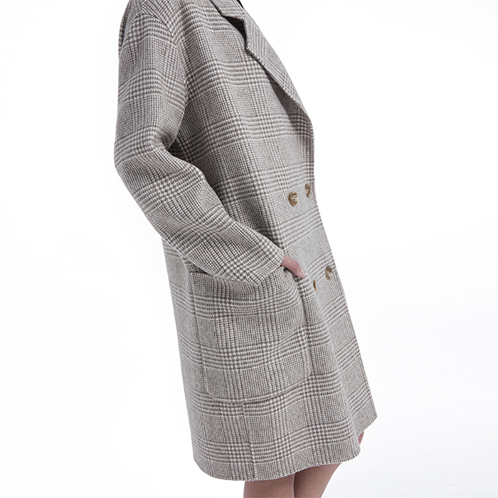 Whole Body of Winter Fashion Cashmere Overcoat