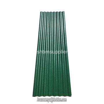 Low Cost Heat-proof Impact-resistant MgO Roofing Sheets