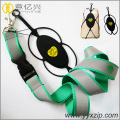 silicone reflective tape neck lanyard cell phone holder
