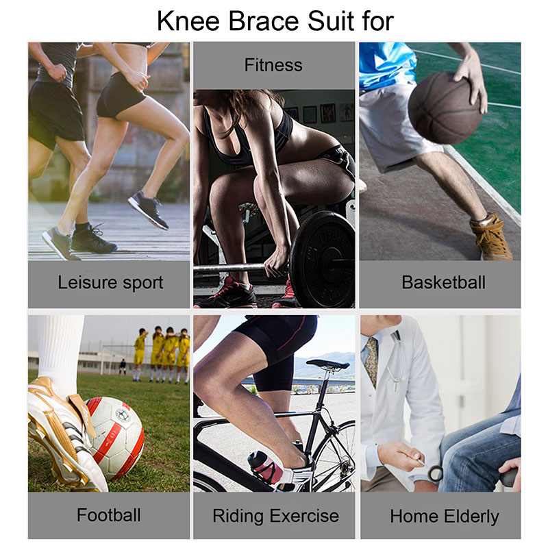 Knit knee support