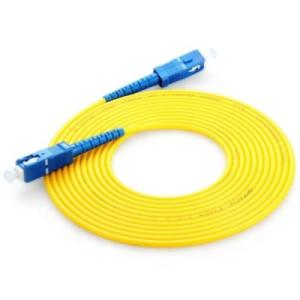 Supply for Duplex Patch Cable SC-SC UPC singlemode OS2 9/125 simplex patch cable export to Bahrain Suppliers
