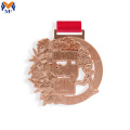 Rose gold metal medal worth cost