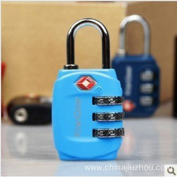 Best Quality for Tsa Combination Lock Portable Padlock Tsa Zinc Alloy Resettable Lock supply to Armenia Suppliers