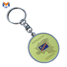 Good Quality for Personalized Keychain Metal custom silver aa coin keychain export to Latvia Suppliers