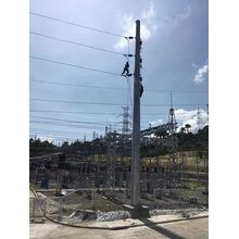 Utility Mast for Electric Power