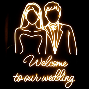 WEDDING LED NEON LIGHT