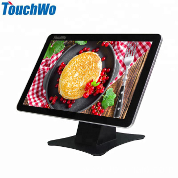 Metal POS 15.6 inch capacitive  touchscreen computer