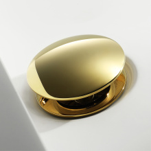 HIDEEP Full Copper Gold Pop Up Drain