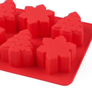 Christmas Red Silicone Cake Mold