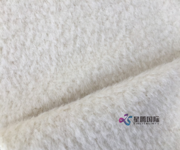 Plush Alpaca Fabric For Coat