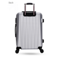 ABS PC traveling airport trolley luggage set