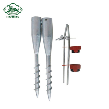 Galvanized Foundation Screw Piles