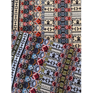 Best Quality for Printed Rayon Challis Ethnic Design Rayon Challis 30S Printing Woven Fabric export to Vietnam Wholesale