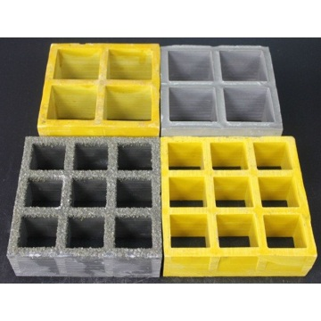 High strength and durable industrial pultruded floor grat