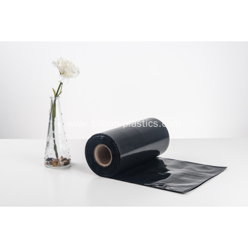 PE Plastic Black Waste Bags on Roll