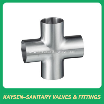 AS1528 Sanitary short welded cross
