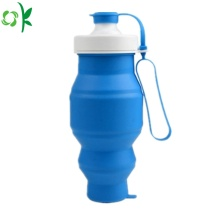 Fashionable Foldable Silicone Travel Camping Cup with Lids