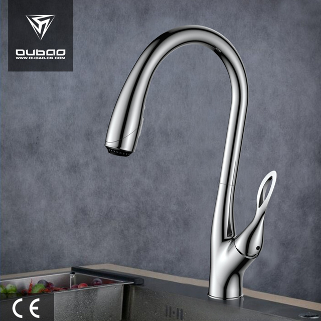 Contemporary Luxury Home Single Handle Mixer Kitchen Faucet