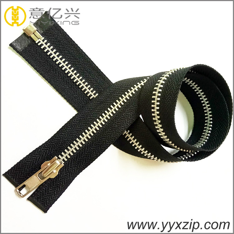 3 metal zipper